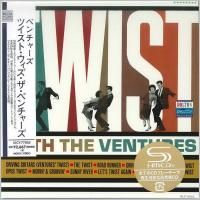 The Ventures - Twist With The Ventures (1962) - SHM-CD Paper Mini Vinyl