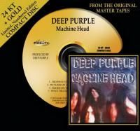 Deep Purple - Machine Head (1972) - 24 KT Gold Numbered Limited Edition