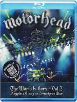 Motorhead - The World Is Ours - Vol 2 - Anyplace Crazy As Anywhere Else (2012) (Blu-ray)