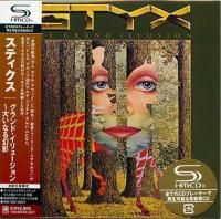 Styx - The Grand Illusion (1977) - SHM-CD Paper Mini Vinyl