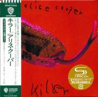 Alice Cooper - Killer (1971) - SHM-CD Paper Mini Vinyl