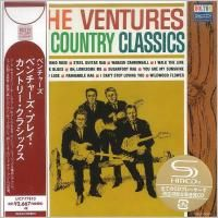 The Ventures - The Ventures Play The Country Classics (1963) - SHM-CD Paper Mini Vinyl