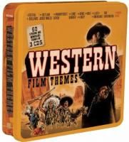 V/A Western Film Themes (2012) - 3 CD Tin Box Set Collector's Edition