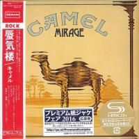 Camel - Mirage (1974) - SHM-CD Paper Mini Vinyl