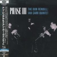 Don Rendell & Ian Carr Quintet - Phase III (1968) - SHM-CD Paper Mini Vinyl