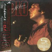 Don McLean ‎- Solo (1976) - SHM-CD Paper Mini Vinyl