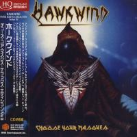 Hawkwind - Choose Your Masques (1982) - 2 HQCD Paper Mini Vinyl