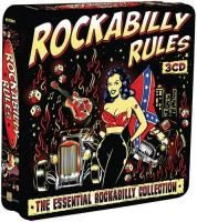 V/A Rockabilly Rules (2012) - 3 CD Tin Box Set Collector's Edition