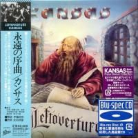 Kansas - Leftoverture (1976) - Blu-spec CD Paper Mini Vinyl
