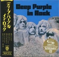 Deep Purple - In Rock (1970) - SHM-CD Paper Mini Vinyl
