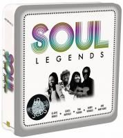 V/A Soul Legends (2010) - 3 CD Tin Box Set Collector's Edition