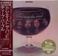 Deep Purple - Come Taste The Band (1975) - SHM-CD Paper Mini Vinyl