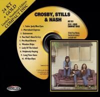 Crosby, Stills & Nash - Crosby, Stills & Nash (1969) - 24 KT Gold Numbered Limited Edition