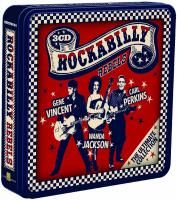 V/A Rockabilly Rebels (2013) - 3 CD Tin Box Set Collector's Edition