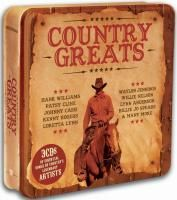 V/A Country Greats (2008) - 3 CD Tin Box Set Collector's Edition