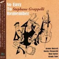 Stephane Grappelli - So Easy To Remember (1993) - UHQCD Paper Mini Vinyl
