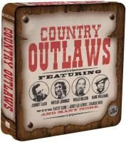 V/A Country Outlaws (2012) - 3 CD Tin Box Set Collector's Edition