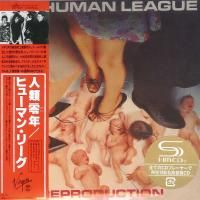 The Human League - Reproduction (1979) - SHM-CD Paper Mini Vinyl