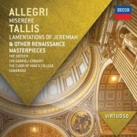 Virtuoso - Allegri Miserere / Tallis Lamentations of Jeremiah & Other Renaissance Masterpieces (2012)