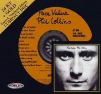 Phil Collins - Face Value (1981) - 24 KT Gold Numbered Limited Edition