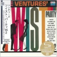 The Ventures - Twist Party Vol. 2 (1962) - SHM-CD Paper Mini Vinyl