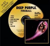 Deep Purple - Fireball (1971) - 24 KT Gold Numbered Limited Edition
