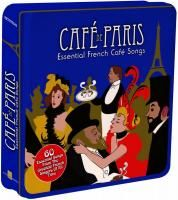 V/A Cafe de Paris - Essential French Cafe Songs (2010) - 3 CD Tin Box Set Collector's Edition