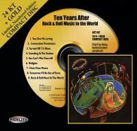 Ten Years After - Rock & Roll Music To The World (1972) - 24 KT Gold Numbered Limited Edition