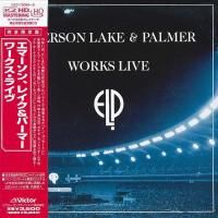 Emerson, Lake & Palmer - Works Live (1993) - 2 HQCD Paper Mini Vinyl
