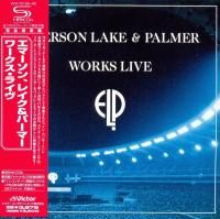 Emerson, Lake & Palmer - Works Live (1993) - 2 SHM-CD Paper Mini Vinyl