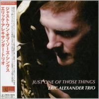 Eric Alexander Trio - Just One Of Those Sings (2016) - Paper Mini Vinyl