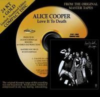 Alice Cooper - Love It To Death (1971) - 24 KT Gold Numbered Limited Edition
