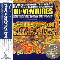 The Ventures - Super Psychedelics (1967) - SHM-CD Paper Mini Vinyl