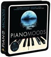 V/A Piano Moods (2010) - 3 CD Tin Box Set Collector's Edition