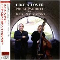 Nicki Parrott and Ken Peplowski - Like A Lover (2010) - Paper Mini Vinyl