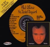 Phil Collins - No Jacket Required (1985) - 24 KT Gold Numbered Limited Edition