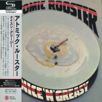 Atomic Rooster - Nice 'N' Greasy (1973) - SHM-CD Paper Mini Vinyl
