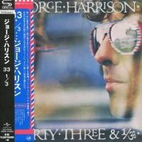 George Harrison - Thirty Three & 1/3 (1976) - SHM-CD Paper Mini Vinyl