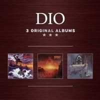 Dio - 3 Original Albums (2016) - 3 CD Box Set