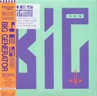 Yes - Big Generator (1987) - SHM-CD Paper Mini Vinyl