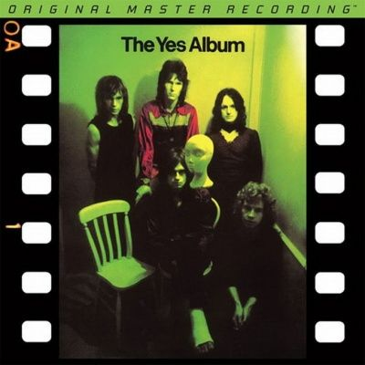 Yes - The Yes Album (1971) - 24 KT Gold Numbered Limited Edition