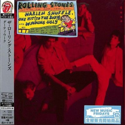 The Rolling Stones - Dirty Work (1986) - SHM-CD Paper Mini Vinyl
