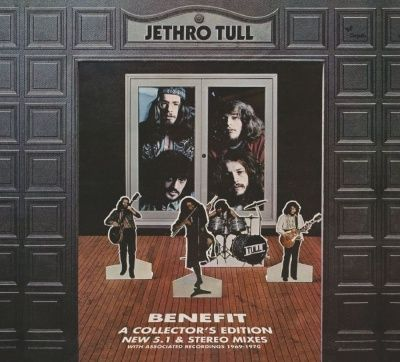 Jethro Tull - Benefit (2013) - 2 CD+DVD-AUDIO Deluxe Edition