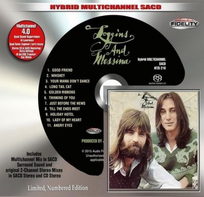 Loggins And Messina - Loggins And Messina (1972) - Hybrid Multi-Channel SACD