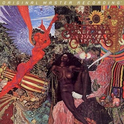 Santana - Abraxas (1970) - 24 KT Gold Numbered Limited Edition