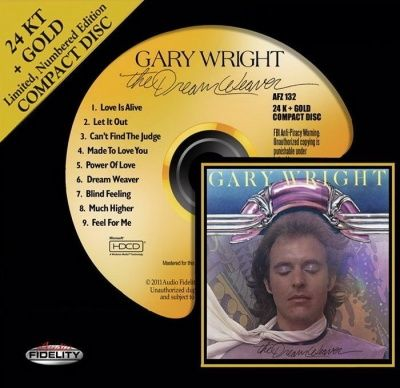 Gary Wright - The Dream Weaver (1975) - 24 KT Gold Numbered Limited Edition