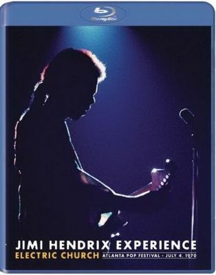 Jimi Hendrix - Electric Church: Atlanta Pop Festival, 4.7.1970 (2015) (Blu-ray)