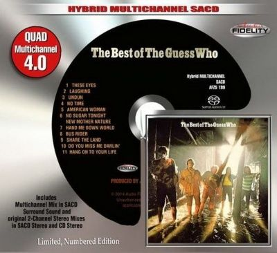 The Guess Who - The Best Of The Guess Who (1971) - Hybrid Multi-Channel SACD