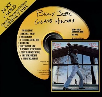 Billy Joel - Glass Houses (1980) - 24 KT Gold Numbered Limited Edition