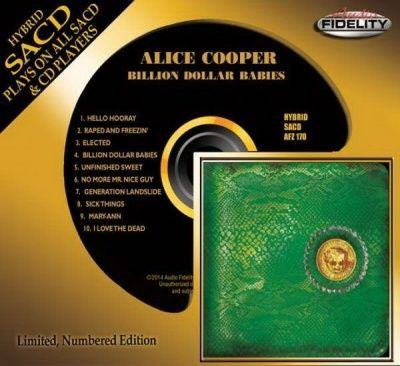 Alice Cooper - Billion Dollar Babies (1973) - Hybrid SACD